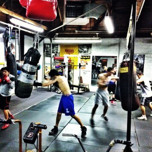 Boxing training isn't as intimidating as you think